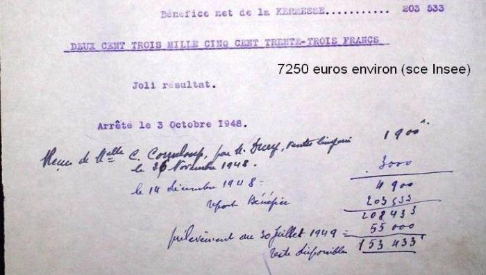 1947kermesse pour l'école de Drée11